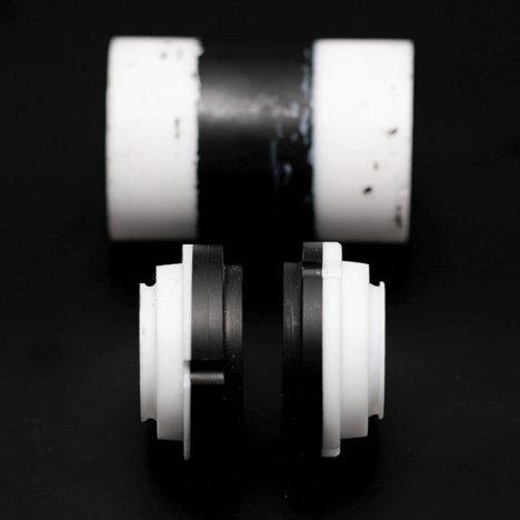 PTFE polymer med 2 komponenter